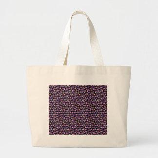 Vivid Gemstones Large Tote Bag