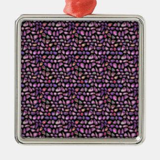 Vivid Gemstones Metal Ornament