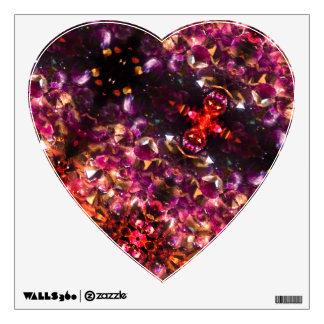 Vivid Heart Wall Sticker