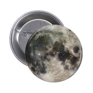 Vivid Image of the Moon 2 Inch Round Button