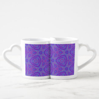 Vivid Kaleidoscope Coffee Mug Set