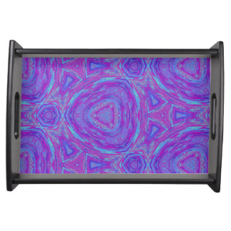 Vivid Kaleidoscope Serving Tray