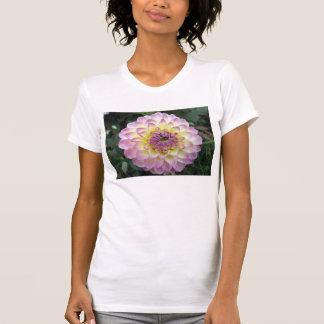 Vivid Lavender Creme Dahlia Tshirts