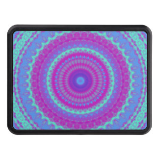 Vivid Mandala Trailer Hitch Cover