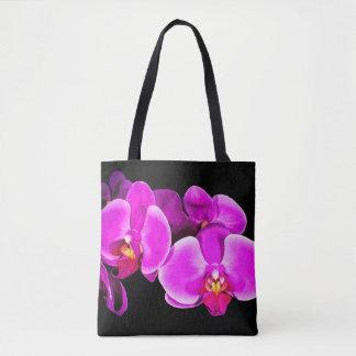 Vivid Orchid Tote Bag