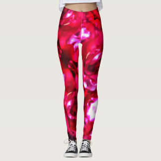 Vivid Pink Shine Leggings