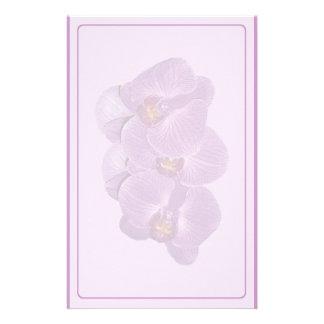 Vivid Purple Orchid Stationery