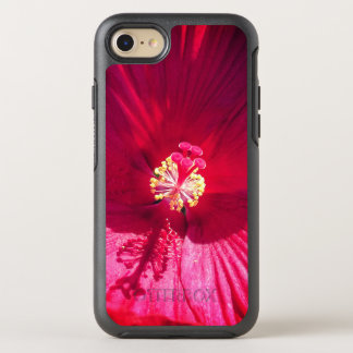 Vivid Red Flower OtterBox Symmetry iPhone 8/7 Case