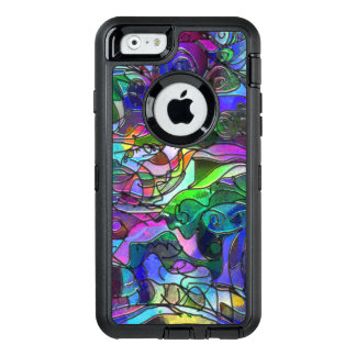 Vivid, Rich Colors: Like Stained Glass OtterBox Defender iPhone Case