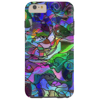 Vivid, Rich Colors: Like Stained Glass Tough iPhone 6 Plus Case
