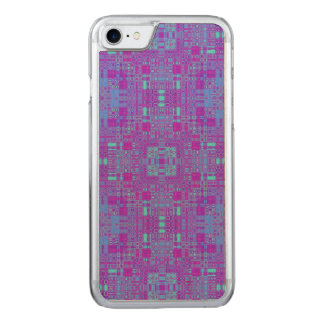 Vivid Squares Carved iPhone 8/7 Case