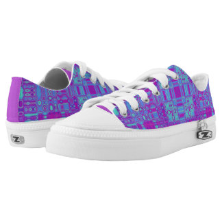 Vivid Squares Low-Top Sneakers