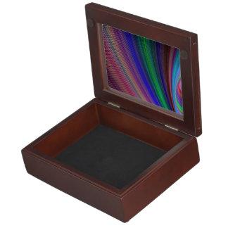 Vivid storm keepsake box