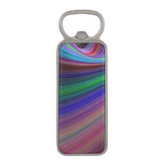 Vivid storm magnetic bottle opener