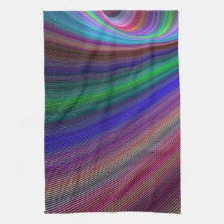 Vivid storm towels