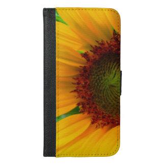 Vivid sunflower iPhone 6/6s plus wallet case