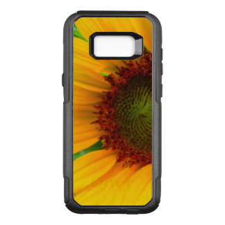 Vivid sunflower OtterBox commuter samsung galaxy s8+ case