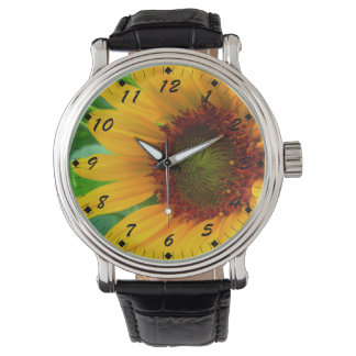 Vivid Sunflower Watch