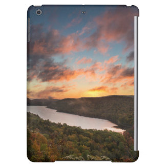 Vivid Sunrise Over Lake Of The Clouds In Autumn Case For iPad Air