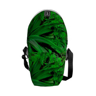 Vivid Tropical Design Courier Bags