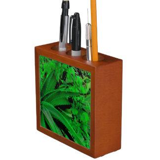 Vivid Tropical Design Desk Organizer