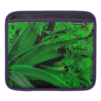Vivid Tropical Design iPad Sleeve