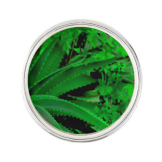 Vivid Tropical Design Lapel Pin