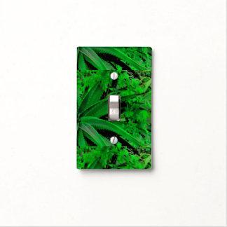 Vivid Tropical Design Light Switch Cover