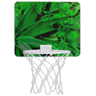 Vivid Tropical Design Mini Basketball Hoop