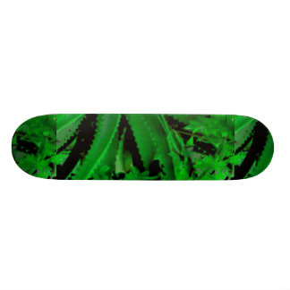 Vivid Tropical Design Skateboard Deck