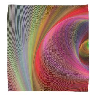 Vivid vortex bandana