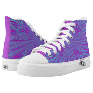 Vivid Vortex High Tops