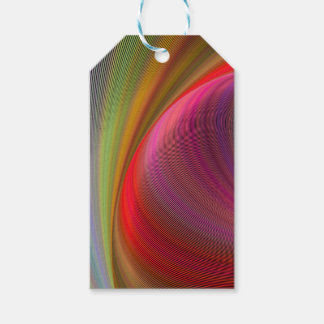 Vivid vortex pack of gift tags