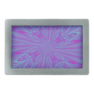 Vivid Vortex Rectangular Belt Buckle