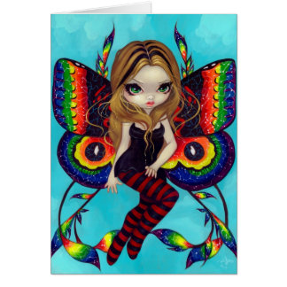 """Vivid Wings"" Greeting Cards"