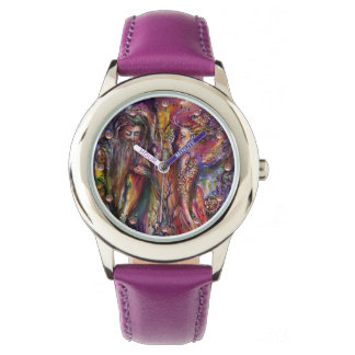 VIVIEN AND MERLIN Pink Purple Fantasy Watch