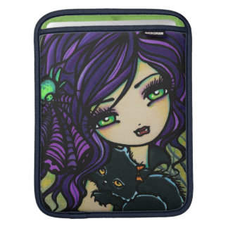 Vixie Vampire Black Cat iPad Sleeve Hannah Lynn