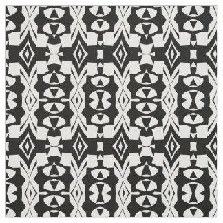 Vizier Black and White Fabric
