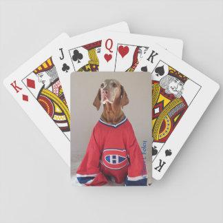 Vizlsa Montreal Canadians Hockey Playing Cards
