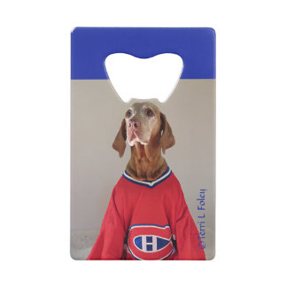 Vizsal Montreal Canadians Hockey Bottle Opener Wallet Bottle Opener