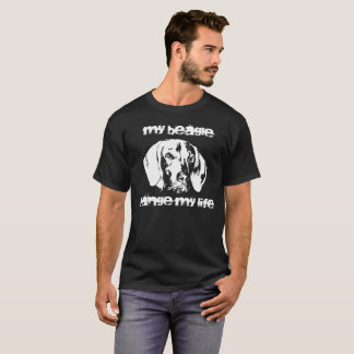 Vizsla, Beagle, friendship with dog T-Shirt