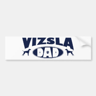 Vizsla Dad Bumper Sticker