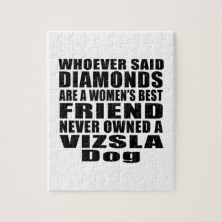 VIZSLA DOG BEST FRIEND DESIGNS PUZZLE