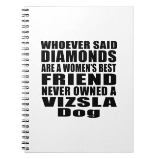 VIZSLA DOG BEST FRIEND DESIGNS SPIRAL NOTE BOOK