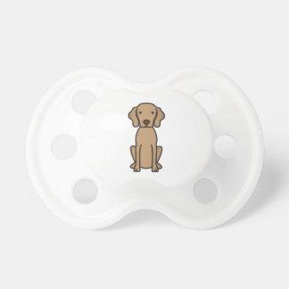 Vizsla Dog Cartoon Pacifier