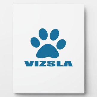 VIZSLA DOG DESIGNS PLAQUE