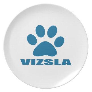 VIZSLA DOG DESIGNS PLATE