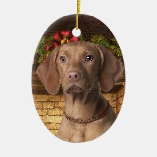 Vizsla Holiday Ornament