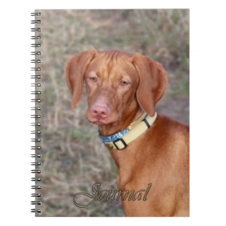 Vizsla Journal Note Book