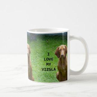 vizsla love w pic coffee mug